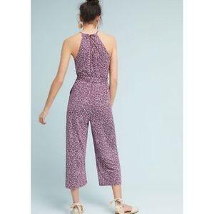 d94d06d73729 Anthropologie Pants - Anthropologie purple Claremont Jumpsuit by Maeve